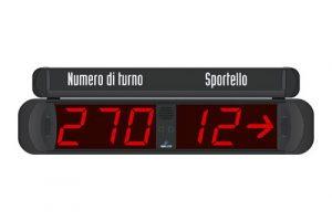 MP-MD32 Display riepilogativo 3+2 cifre con freccia